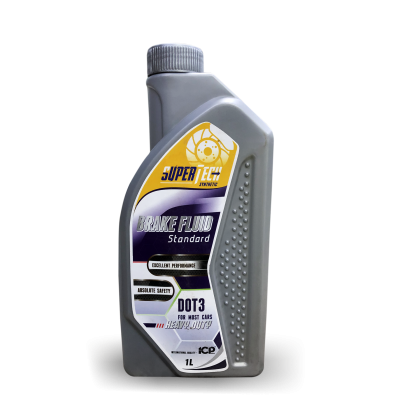 SUPERTECH BRAKE FLUID DOT3 Standard ( 1lit)