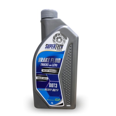 SUPERTECH BRAKE FLUID DOT3 Trucks and LCVs (1 lit)