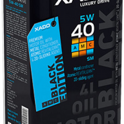 Combo 2 chai XADO Luxury Drive Black Edition 5W40