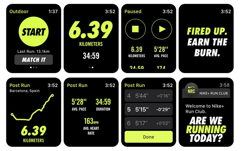 Apple Watch S4 GPS 40mm Viền Nhôm dây cao su màu hồng (MU682VN/A) - đo quãng đường chạy