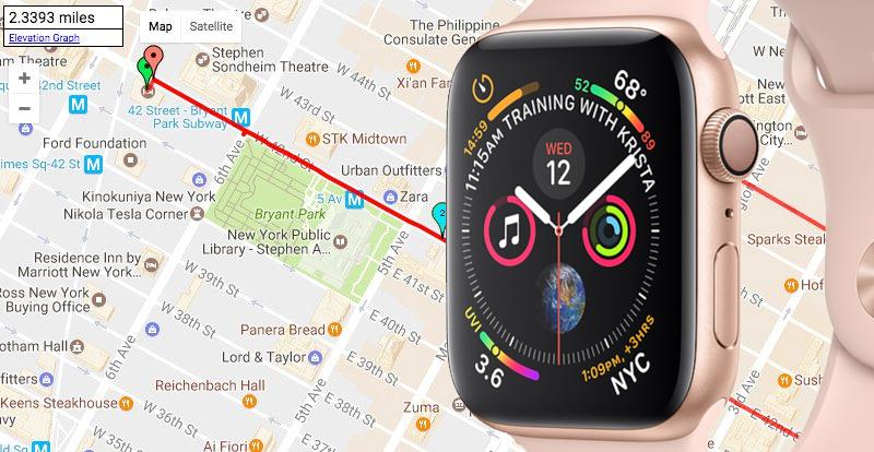 Apple Watch S4 GPS 40mm Viền Nhôm dây cao su màu hồng (MU682VN/A) - gps