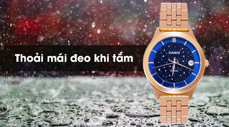 Đồng hồ Nữ Casio LTP-E141G-2AVDF chống nước 5 ATM
