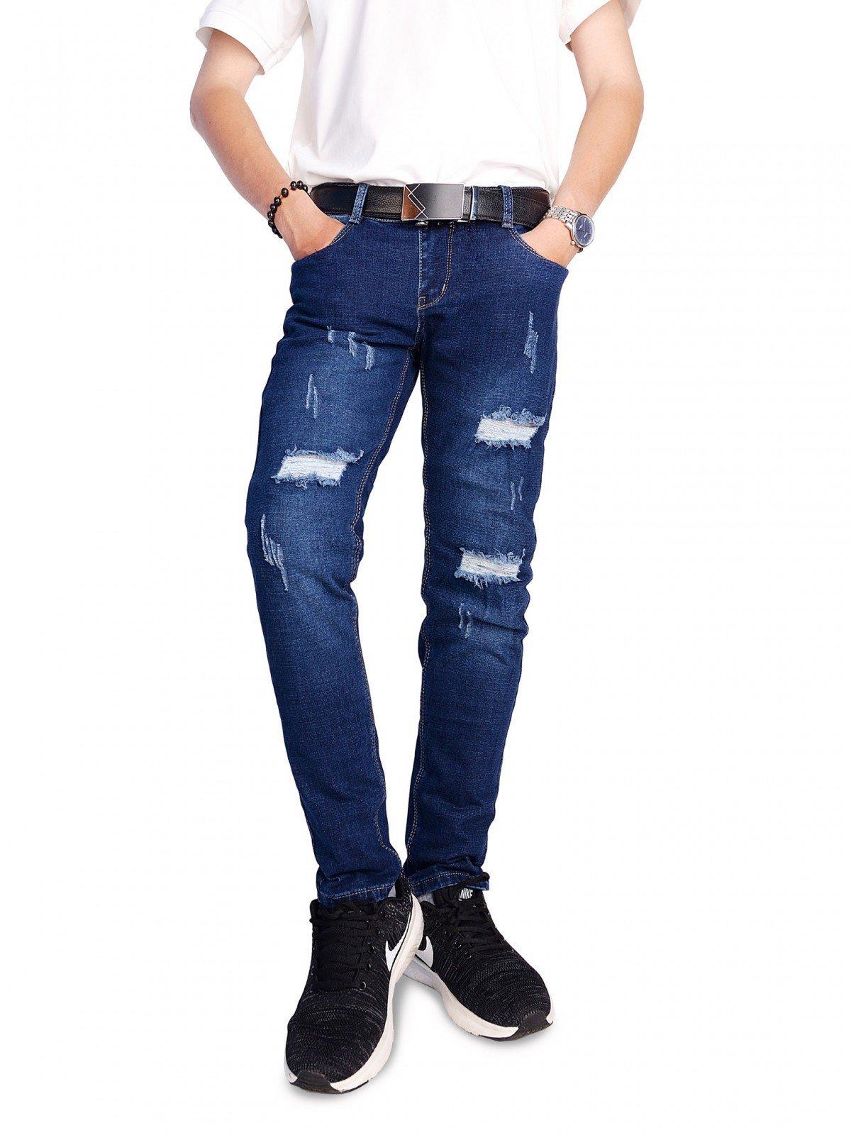 jeans nam rach goi