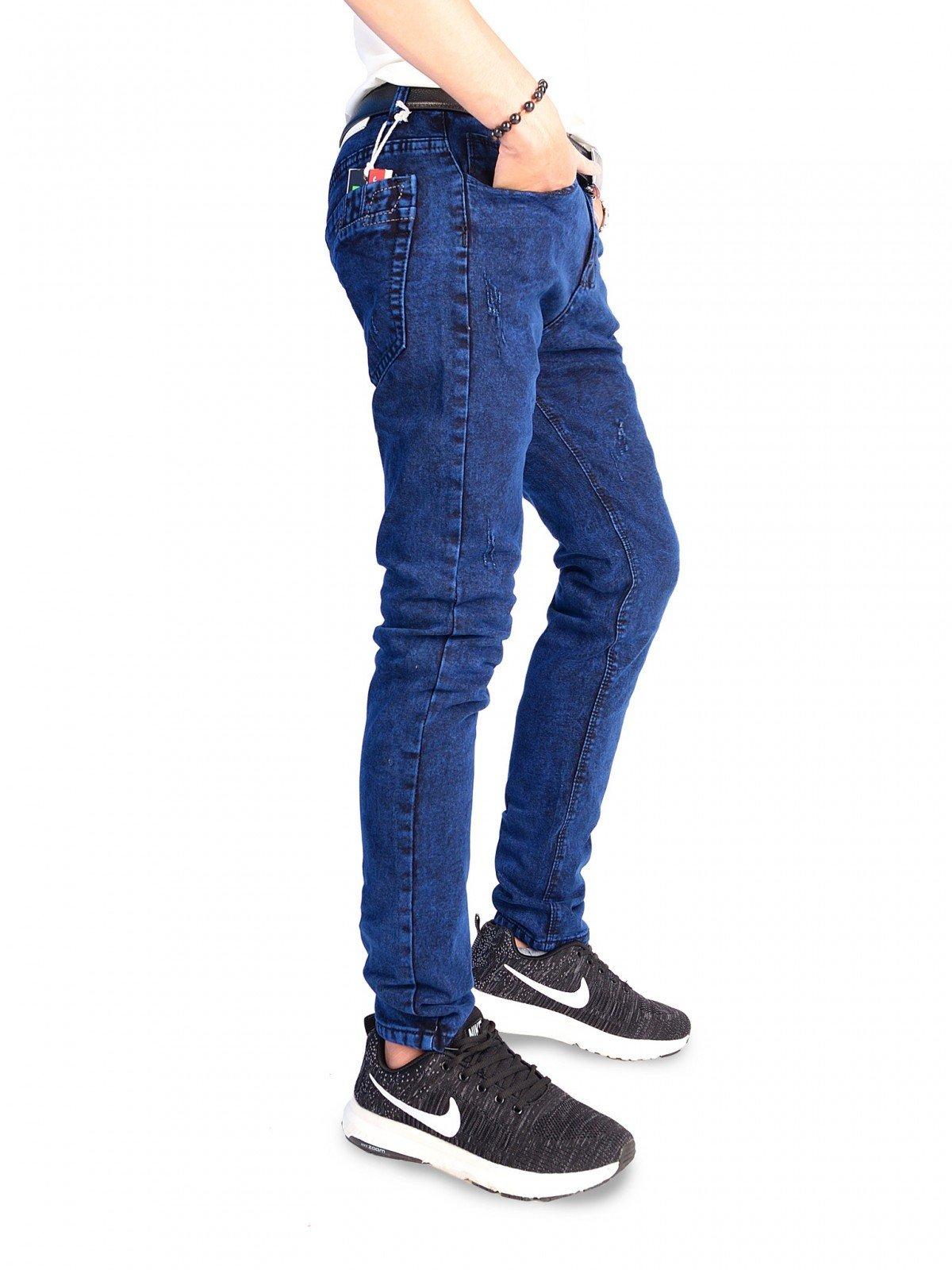 quần jean nam xanh nhung