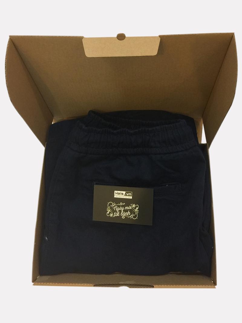quần đùi nam xanh đen