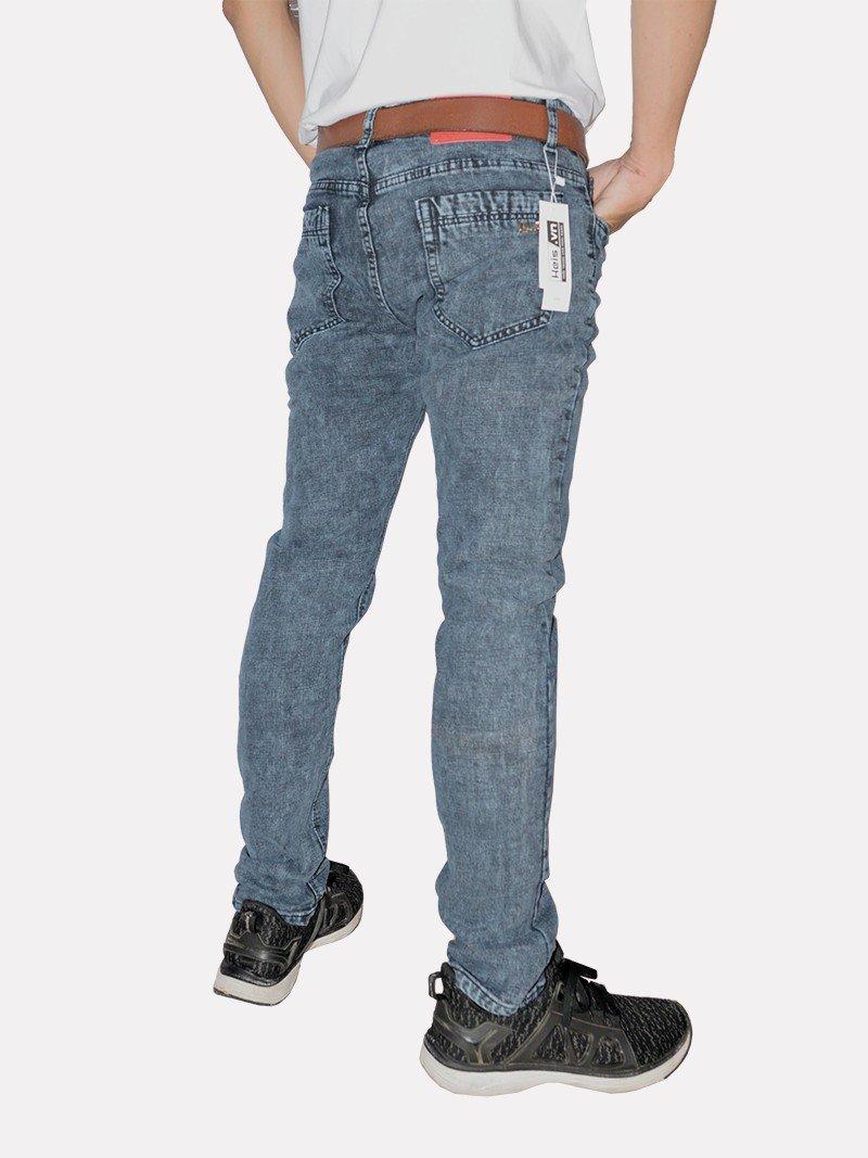 quần jeans nam nhung xám