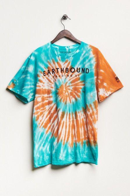 áo thun nữ tie-dye t-shirt xoắn ốc