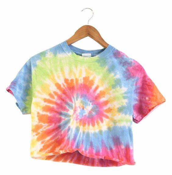 áo thun tie-dye t-shirt